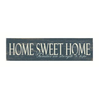 Home Sweet Home - Wood Sign by FLAVIA