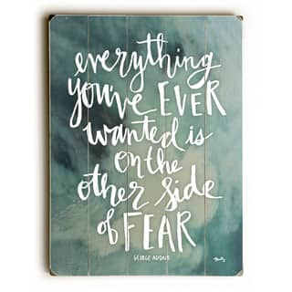 Other Side of Fear - Wall Decor by Misty Diller