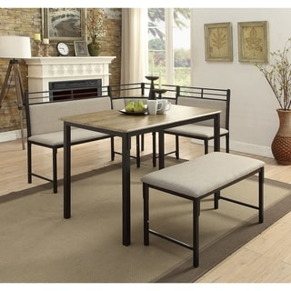 Tool Less Boltzero Corner Dining Nook Free Shipping Today 17025523