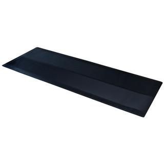 "Dimex ClimaTex 27"" X 10' Indoor/Outdoor Rubber Runner Mat, Black"
