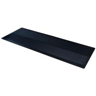 "Dimex ClimaTex 27"" X 20' Indoor/Outdoor Rubber Runner Mat, Black"