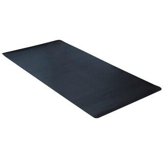 """Dimex ClimaTex 36"""" X 20' Indoor/Outdoor Rubber Scraper Mat, Black"""