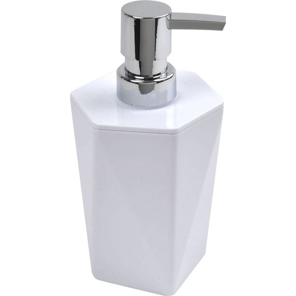 Evideco Soap and Lotion Dispenser Design HEXAGONAL Solid Color
