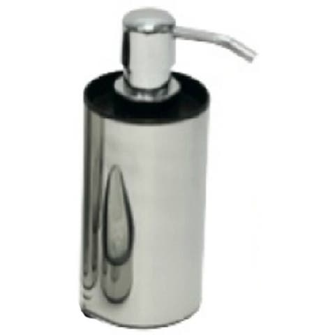 Evideco Stainless Steel Soap and Lotion Dispenser GRAPHITE Shiny Color