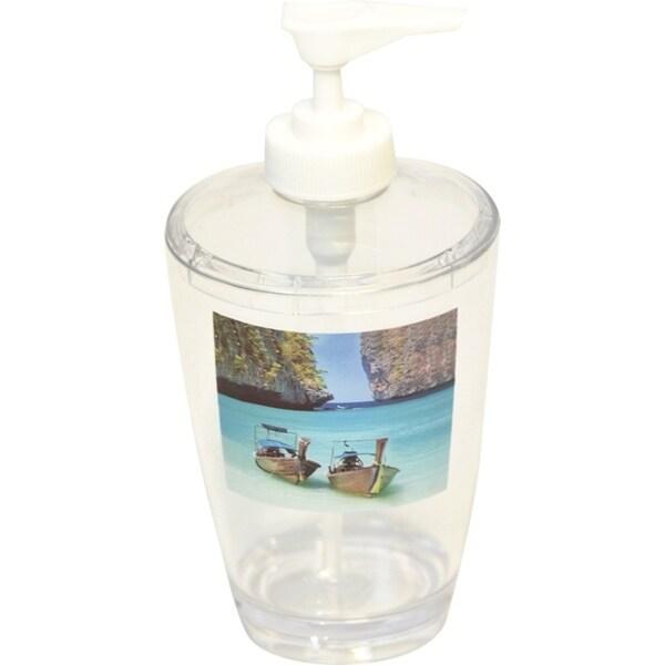 Evideco Clear Acrylic Soap Dispenser Lotion Pump Design Paradise