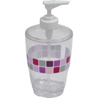 Evideco Clear Acrylic Soap Dispenser Lotion Pump Design Mosaic
