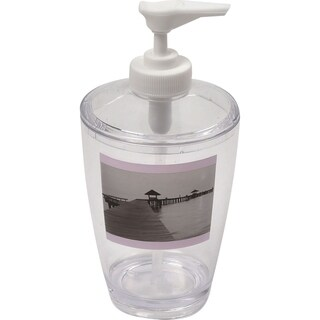 Evideco Clear Acrylic Soap Dispenser Lotion Pump Design Seaside