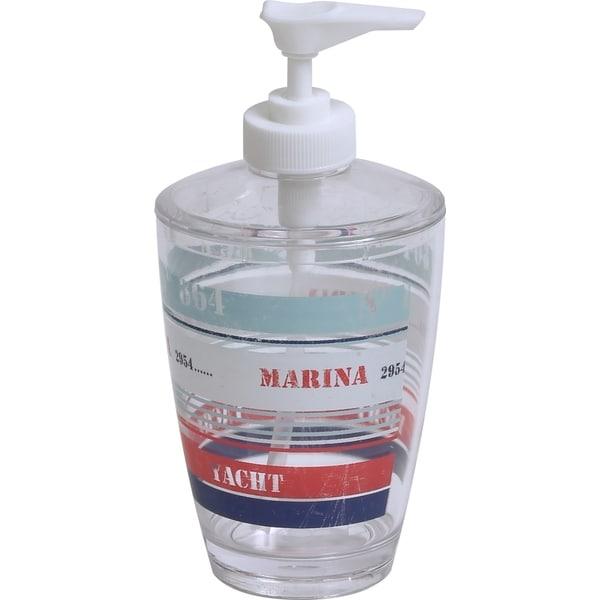 Evideco Clear Acrylic Soap Dispenser Lotion Pump Design Yacht Club