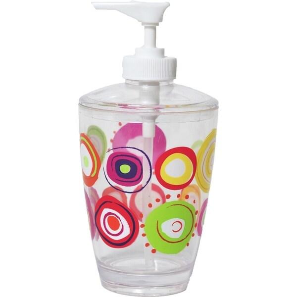 Evideco Clear Acrylic Soap Dispenser Lotion Pump Design Vitamine