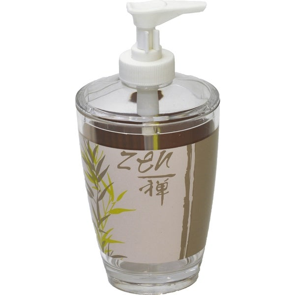 Evideco Clear Acrylic Soap Dispenser Lotion Pump Design Jade