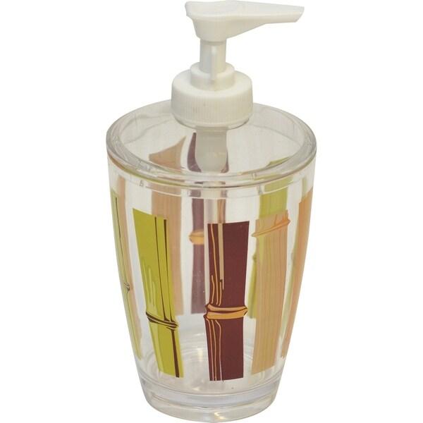 Evideco Clear Acrylic Soap Dispenser Lotion Pump Design Java