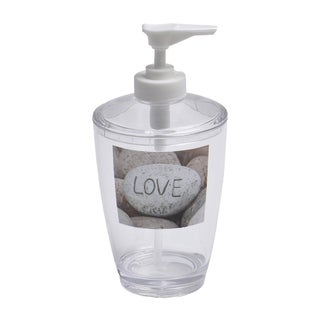 Evideco Clear Acrylic Soap Dispenser Lotion Pump Design Nature