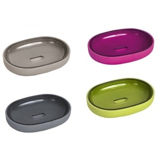 Evideco Soap Dish Cup Soft Touch Velvet Collection DESIGN