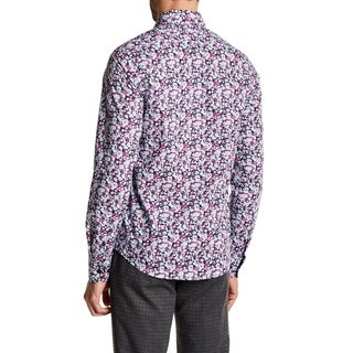 Abstract Foliage Slim Fit Shirt