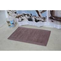 Evideco Cotton Bath Mat with Velvet Border Bath Rug 20W X 31.5L