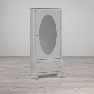 Little Seeds Rowan Valley Laren White Armoire with Mirror