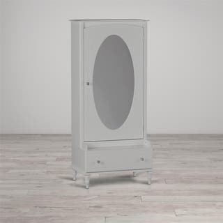 Little Seeds Rowan Valley Laren White Armoire with Mirror|https://ak1.ostkcdn.com/images/products/17025837/P23304746.jpg?impolicy=medium