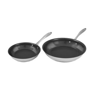 Tuxton Home Concentrix 2PC Fry Pan Set