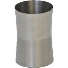 Evideco Round Stainless Steel Bath Tumbler Silver
