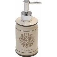 Evideco Paris Romance Dolomite Soap and Lotion Dispenser Color Beige