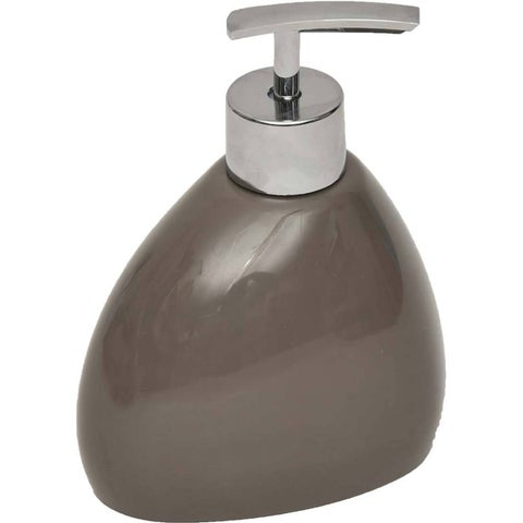 Evideco Elegance Vanity Soap and Lotion Dispenser Pebble