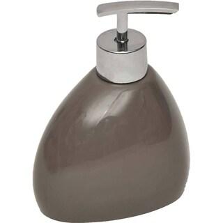 Evideco Elegance Vanity Soap and Lotion Dispenser Pebble