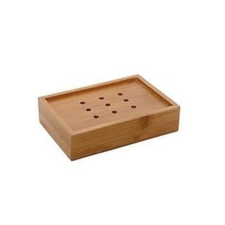 Evideco Ecobio Bamboo Soap Dish Color Brown