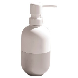 Evideco Two-colored Soap and Lotion Dispenser Soft Velvet Touch