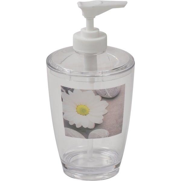 Evideco Clear Acrylic Soap Dispenser Lotion Pump Design Zen and Co