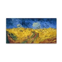 Vincent van Gogh 'Wheatfield with Crows' Canvas Art