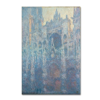 Claude Monet 'The Portal Of Rouen Cathedral in Morning Light' Canvas Art