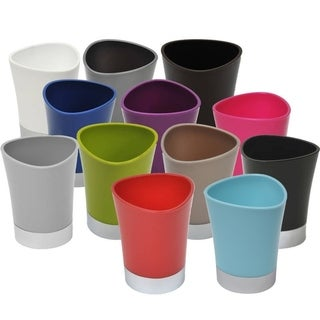 Evideco Bath Tumbler Shiny Colors with Chrome Base