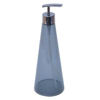 Evideco Round Clear Acrylic Soap and Lotion Dispenser CONE