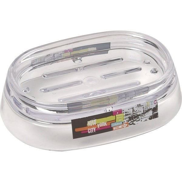 Evideco Clear Acrylic Soap Dish Cup Design Urban Nyc
