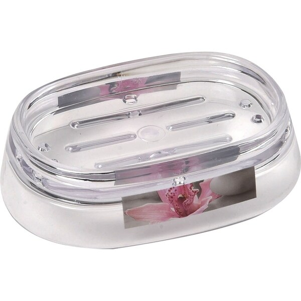 Evideco Clear Acrylic Soap Dish Cup Design Chic and Zen