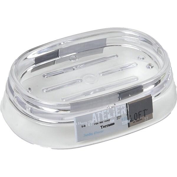 Evideco Clear Acrylic Soap Dish Cup Design Atelier Loft