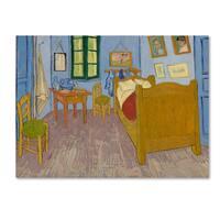 Vincent van Gogh 'Van Gogh's Bedroom at Arles' Canvas Art
