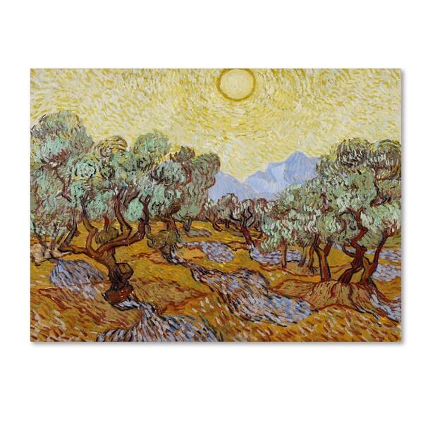 Vincent van Gogh 'Olive Trees 1889' Canvas Art
