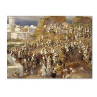 Pierre Renoir 'The Mosque' Canvas Art