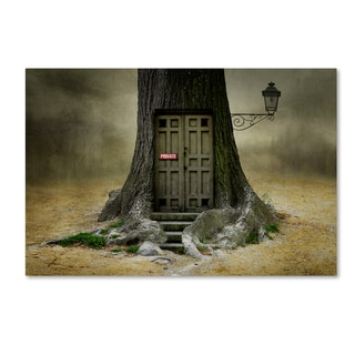 Ben Goossens 'Only Opens If You Are Open For Fantasy' Canvas Art