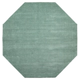 Aqua Pulse (6'x6') Octagon Rug - 6' x 6'