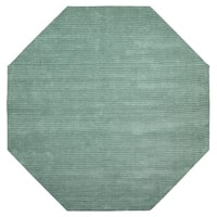 Aqua Pulse (6'x6') Octagon Rug