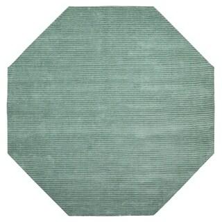 Aqua Pulse (6'x6') Octagon Rug