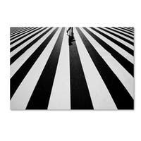 Kouji Tomihisa 'Black And White' Canvas Art
