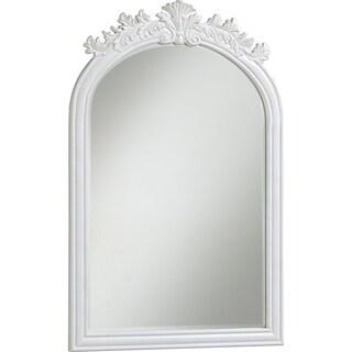 """Wellington 21"""" Antique White Mirror - Antique White"""