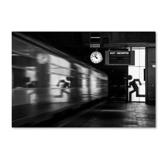 Hilde Ghesquiere 'Too Late' Canvas Art