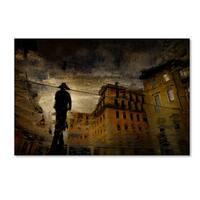 Antonio Grambone 'Water Painting' Canvas Art
