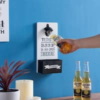 Danya B. Hanging Beer Opener and Cap Holder