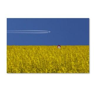 Udo Dittmann 'No Landing Zone' Canvas Art