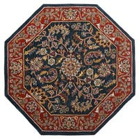 Shop Hand Tufted Agra Wool Rug 8 Octagon On Sale